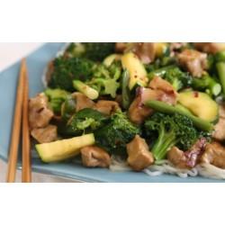 Čínske stir-fry s tofu