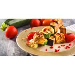 Tofu-zeleninové špízy